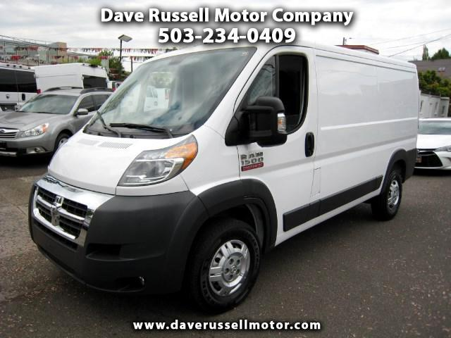 2017 RAM Promaster 1500 Low Roof Tradesman Cargo Van 136-in. WB