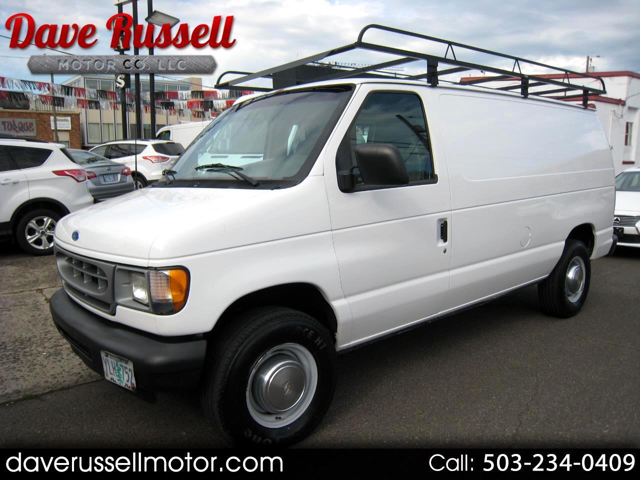 2001 Ford Econoline E-250 Cargo Van