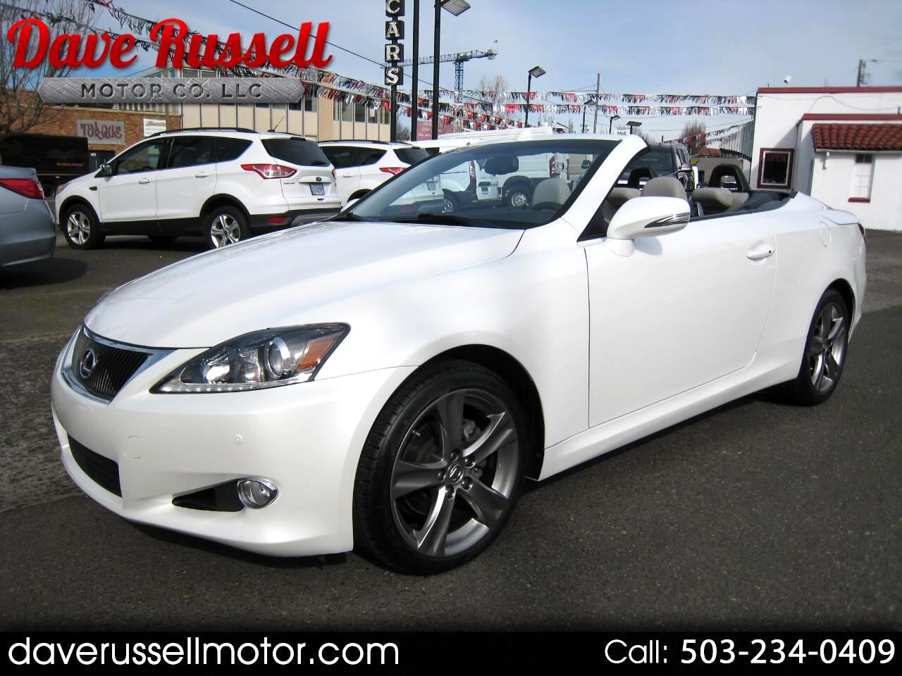 2013 Lexus IS C 250C Convertible