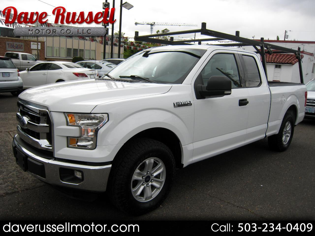 2016 Ford F-150 XLT SuperCab Pickup Truck 6.5-ft. Bed