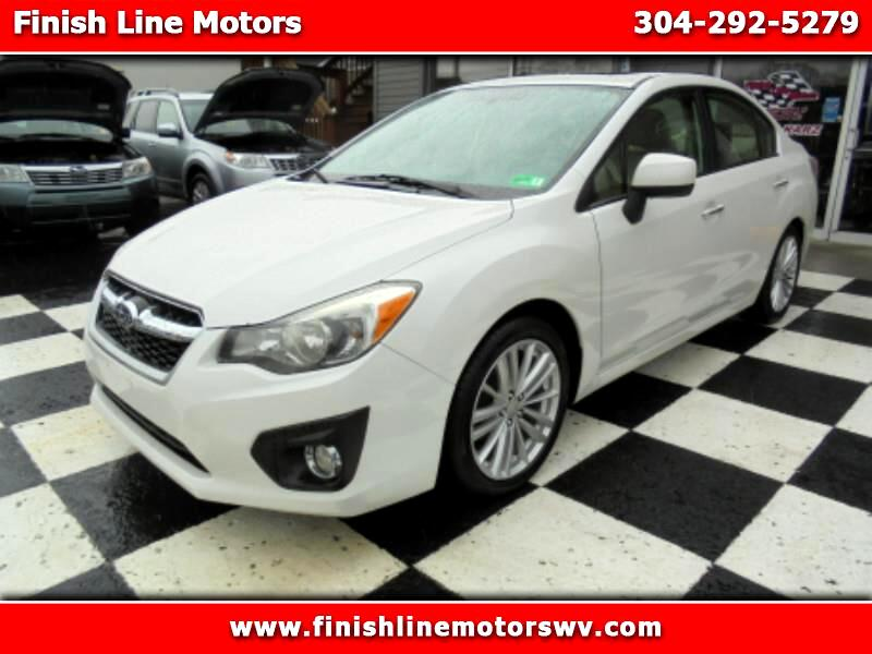 Subaru Impreza Limited 4-Door+S/R 2013