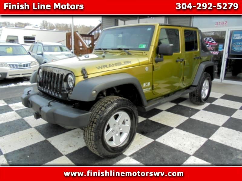 2007 Jeep Wrangler  for sale VIN: 1J4GA39177L204080