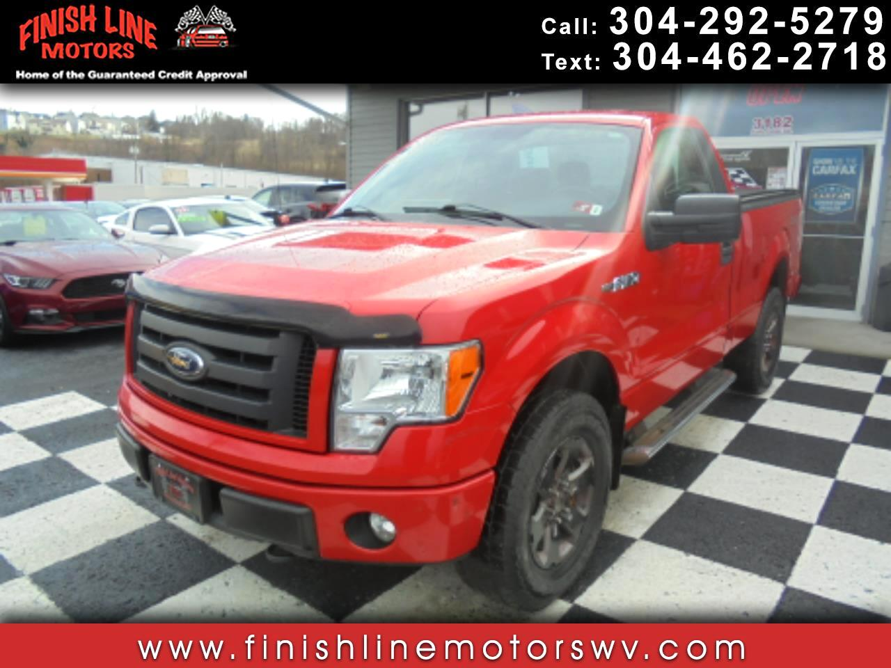 Ford F-150 XLT 8-ft. Bed 4WD 2012