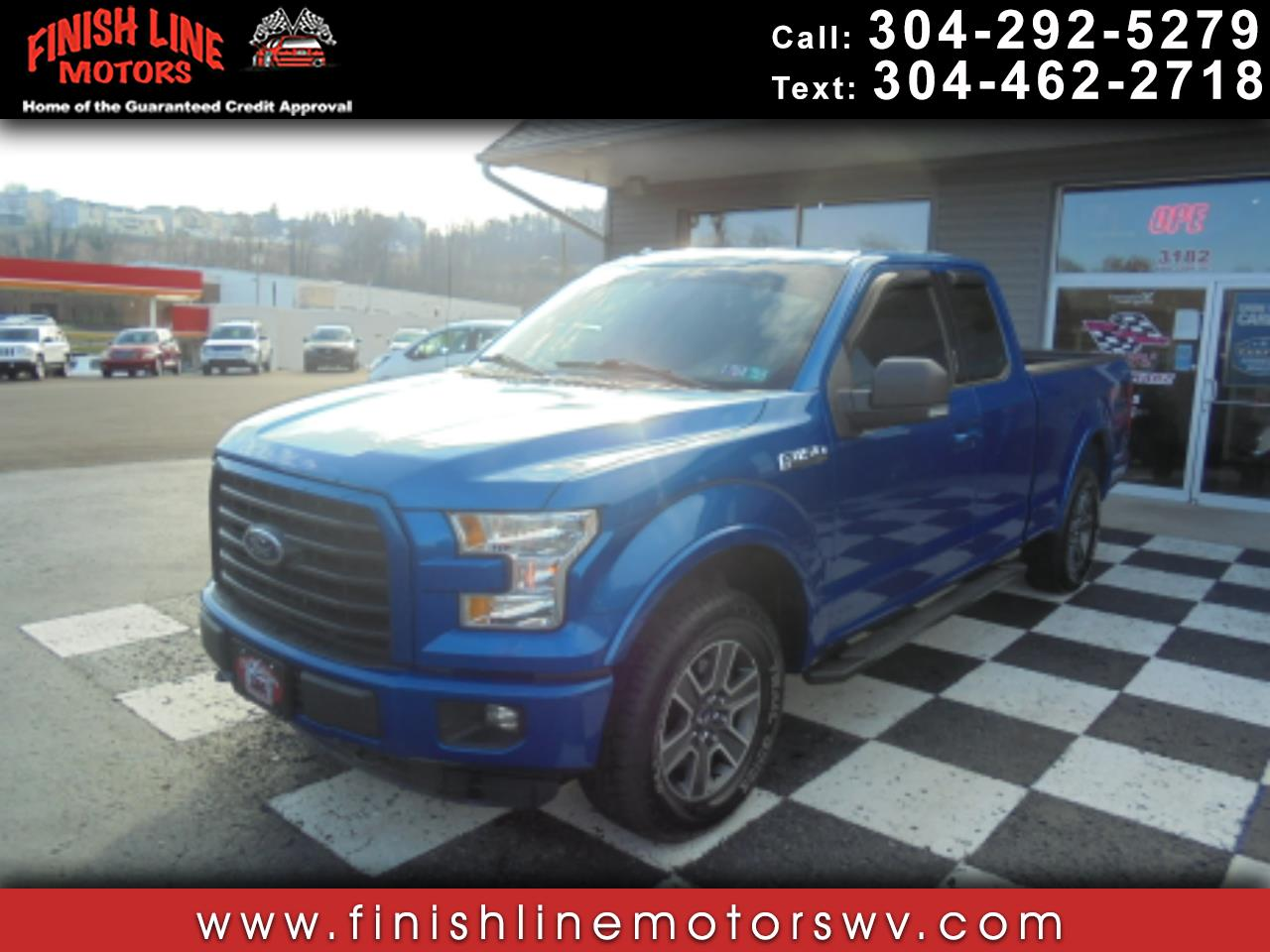 """Ford F-150 4WD SuperCab 145"""" FX4 2015"""