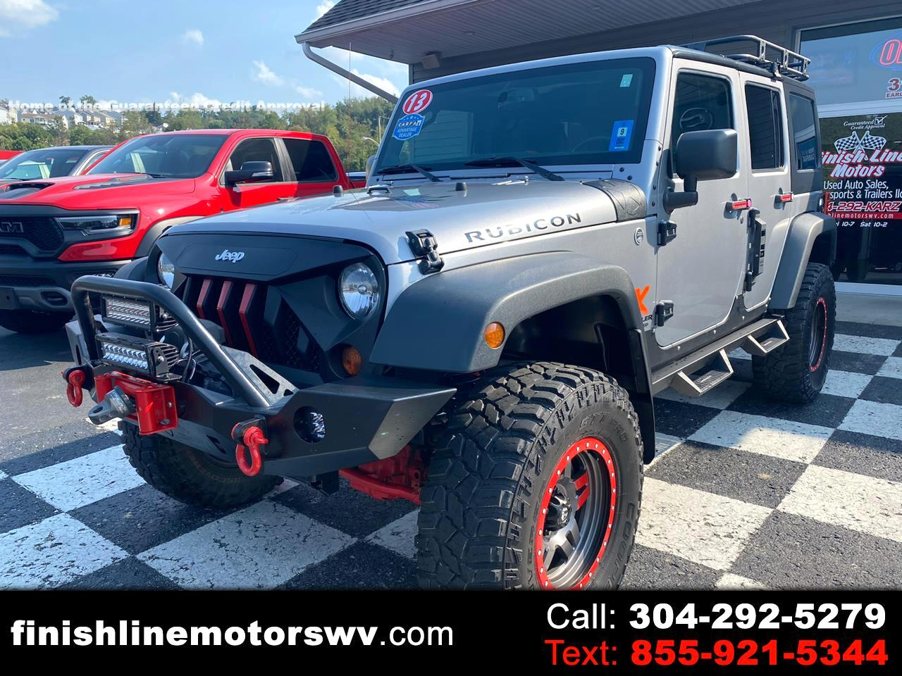 Jeep Wrangler Unlimited 4WD 4dr Rubicon 2013