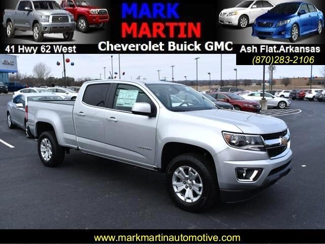 2018 Chevrolet Colorado LT Crew Cab 2WD Long Box