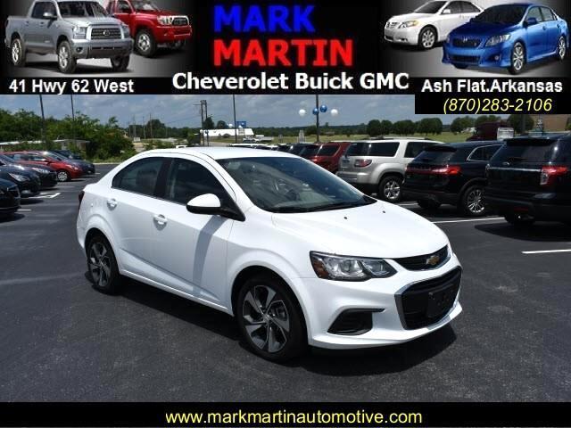 2018 Chevrolet Sonic Premier Manual Sedan