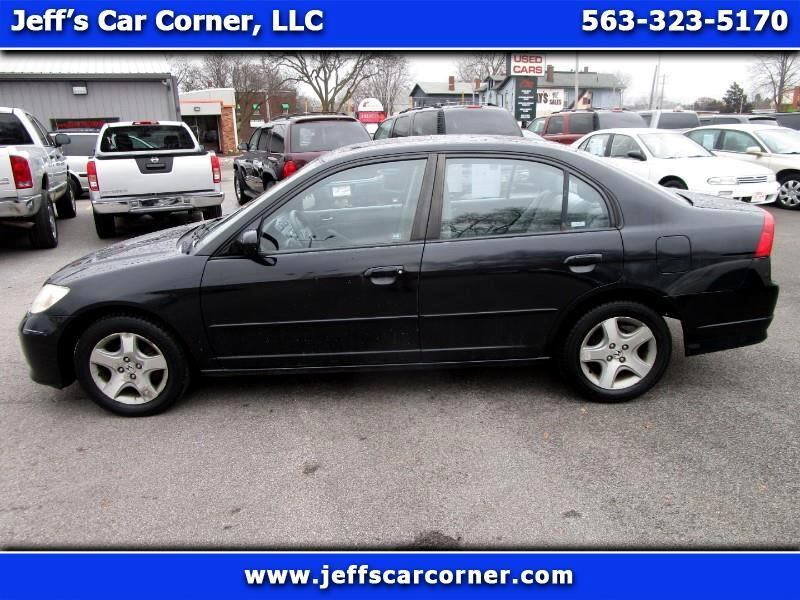 2005 Honda Civic EX Sedan AT w/ Front Side Airbags