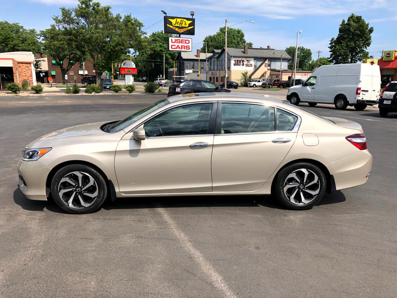 Honda Accord EX-L Sedan CVT 2017