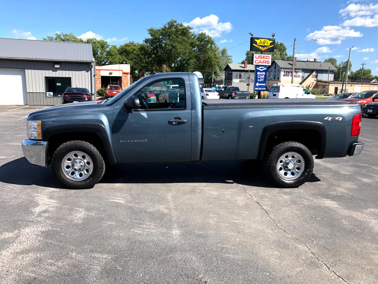 """2012 Chevrolet Silverado 1500 4WD Reg Cab 119.0"""" Work Truck"""
