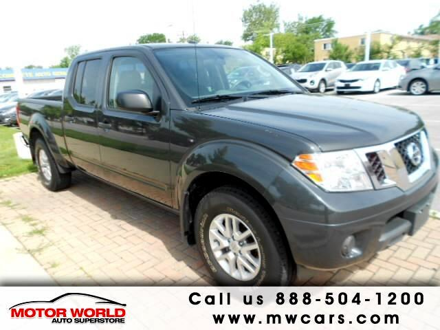 2015 Nissan Frontier SV Crew Cab 5AT 4WD