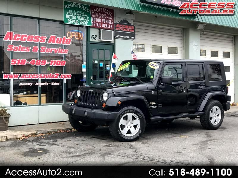 Jeep Wrangler Unlimited 4WD 4dr Sahara 2007