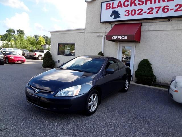 2005 Honda Accord EX Coupe AT with Leather and Navigation System and