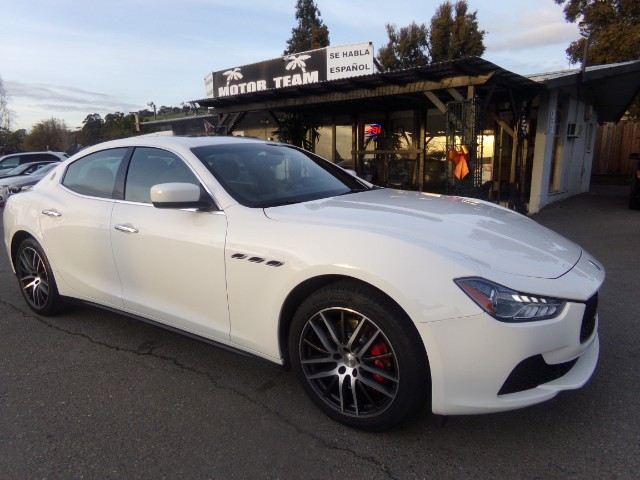 2015 Maserati Ghibli 4 Door Sedan Sports Package