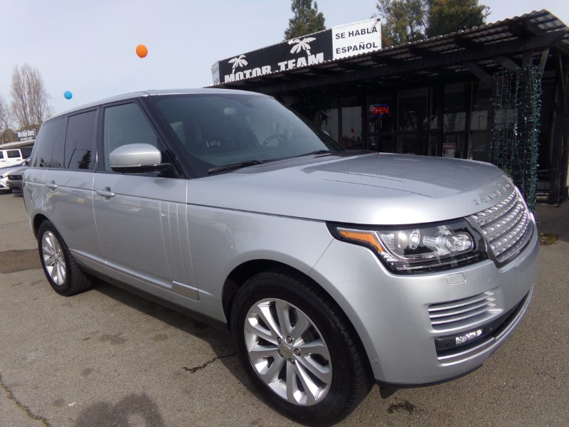 Land Rover Range Rover 3.0L V6 Supercharged HSE 2014