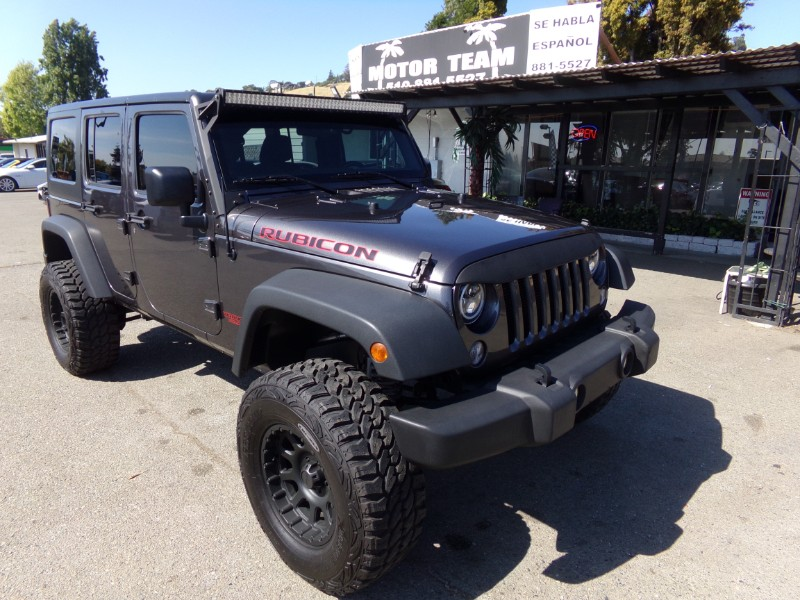 2017 Jeep Wrangler UNLIMITED SPORTS 4WD WITH SPECIAL LIFT UP KIT
