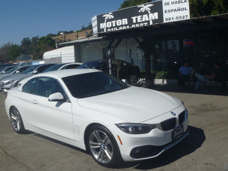BMW 4-Series 430i SULEV Convertible 2018