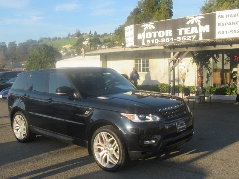 Land Rover Range Rover Sport 5.0L V8 Supercharged Autobiography 2014
