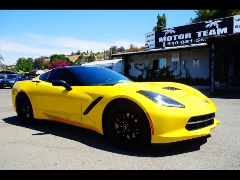 Chevrolet Corvette Stingray 2dr Z51 Cpe w/2LT 2014