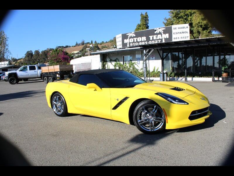 Chevrolet Corvette 2dr Stingray Conv w/3LT 2017