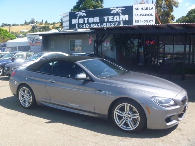 2014 BMW 6-Series 640i Convertible