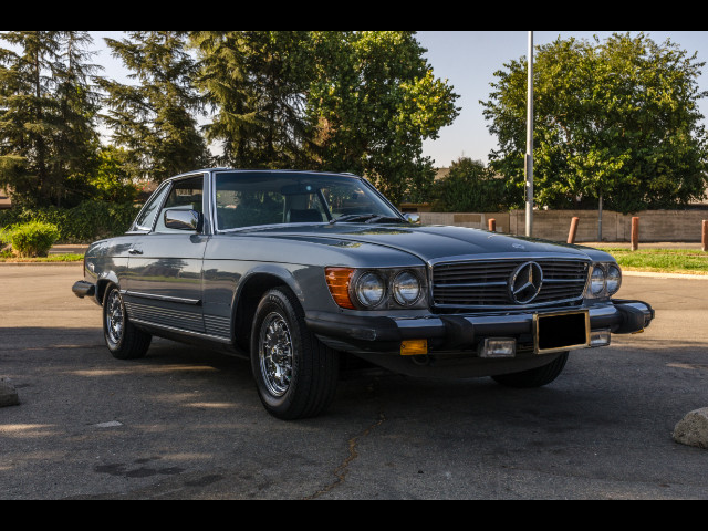 1980 Mercedes-Benz 450SL convertible