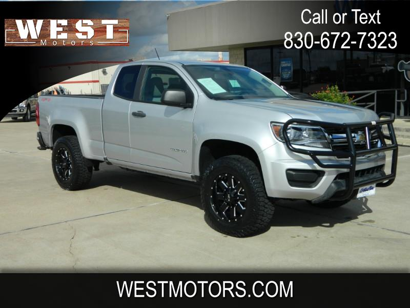 "Chevrolet Colorado 4WD Ext Cab 128.3"" WT 2017"