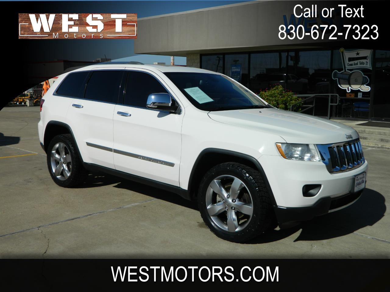 Jeep Grand Cherokee RWD 4dr Limited 2012