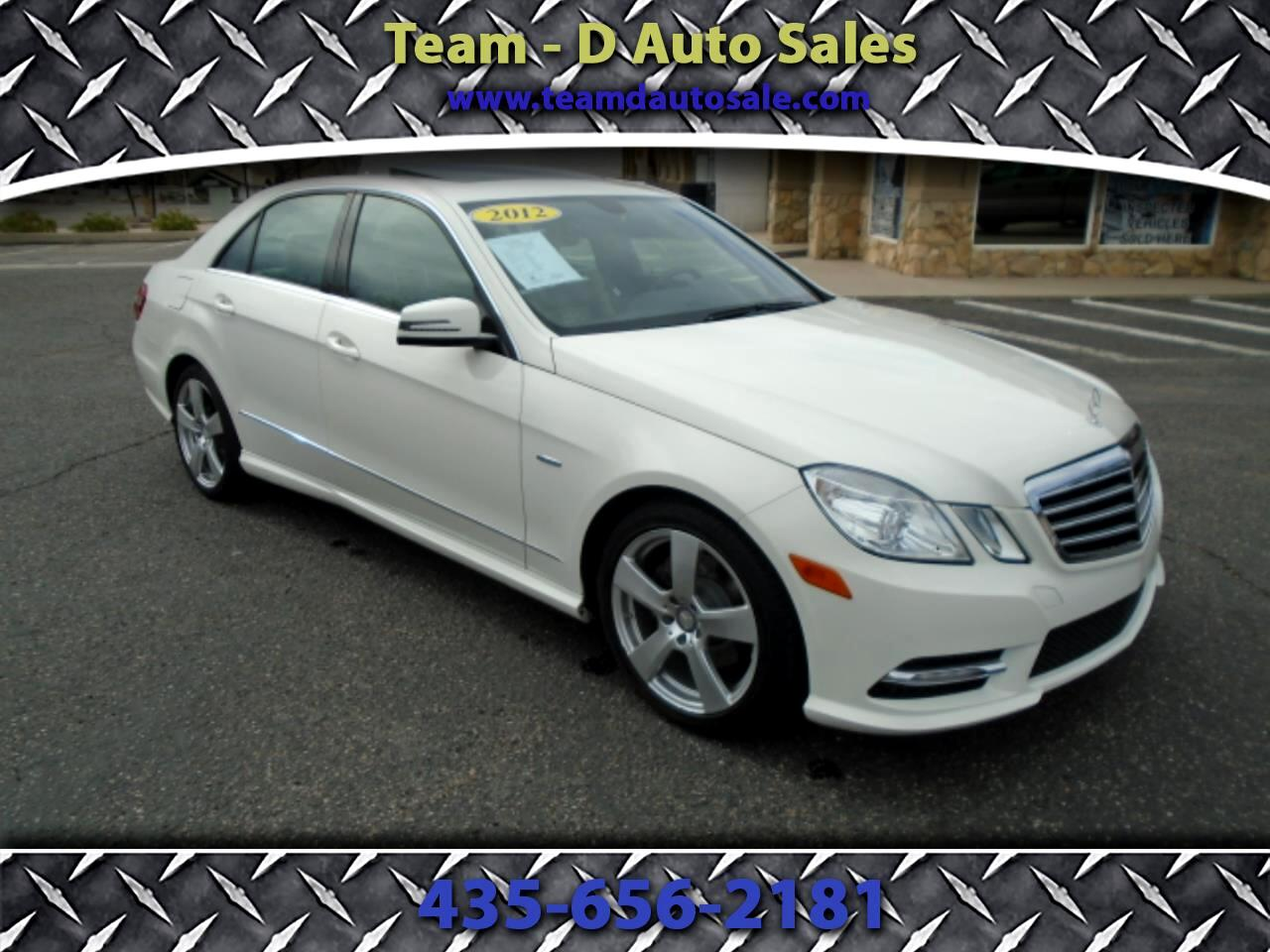 Mercedes-Benz E-Class E350 Sedan 2012