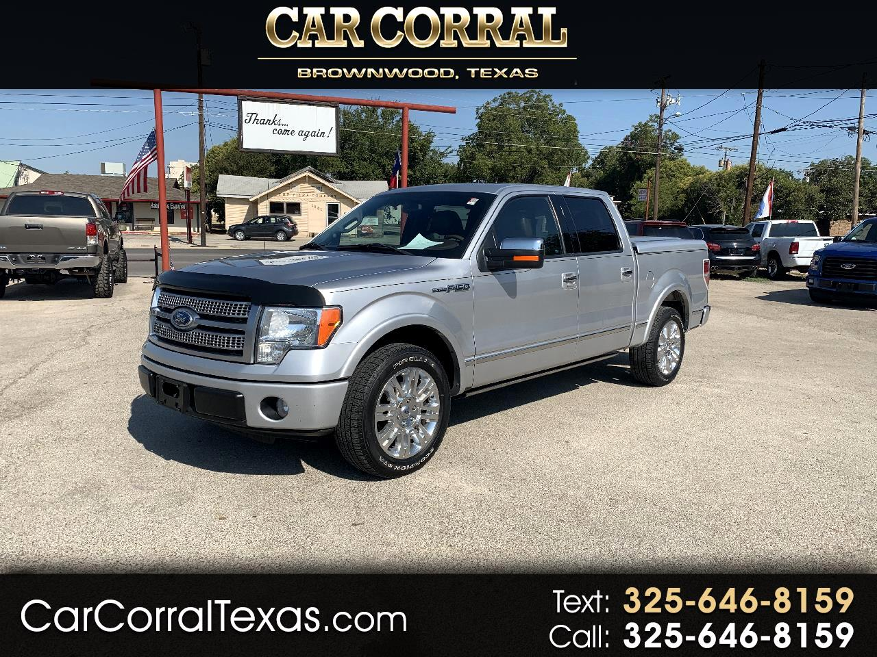 2010 Ford F-150 Platinum SuperCrew 5.5-ft. Bed 2WD