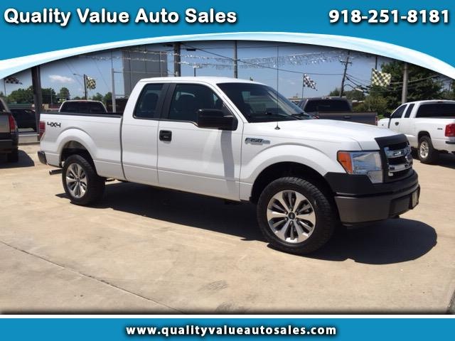 2013 Ford F-150 SuperCab Short Bed 4WD