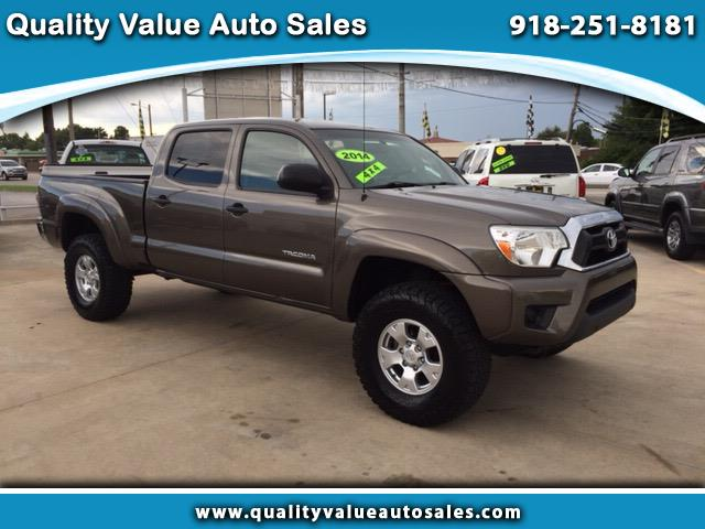 2014 Toyota Tacoma Double Cab Long Bed V6 Automatic 4WD