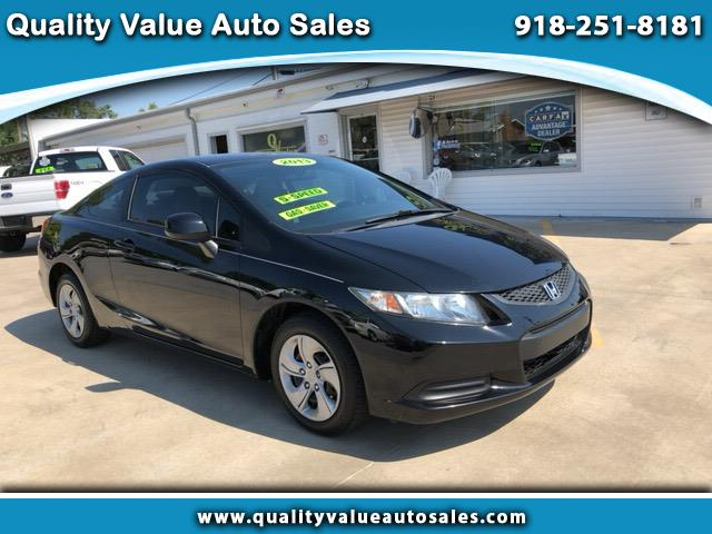 2013 Honda Civic LX Coupe 5-Speed MT