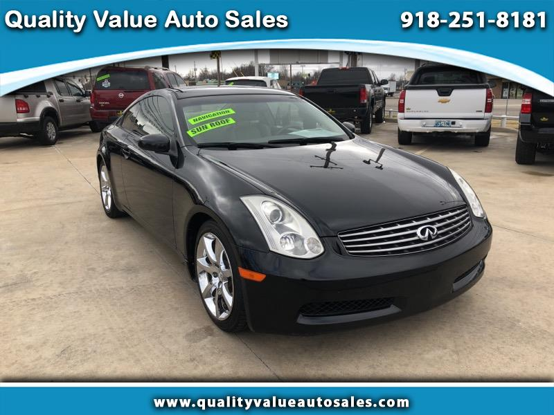 2006 Infiniti G35 Coupe Sport Package