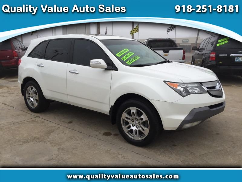 2009 Acura MDX SH-AWD 4dr Tech/Entertainment Pkg