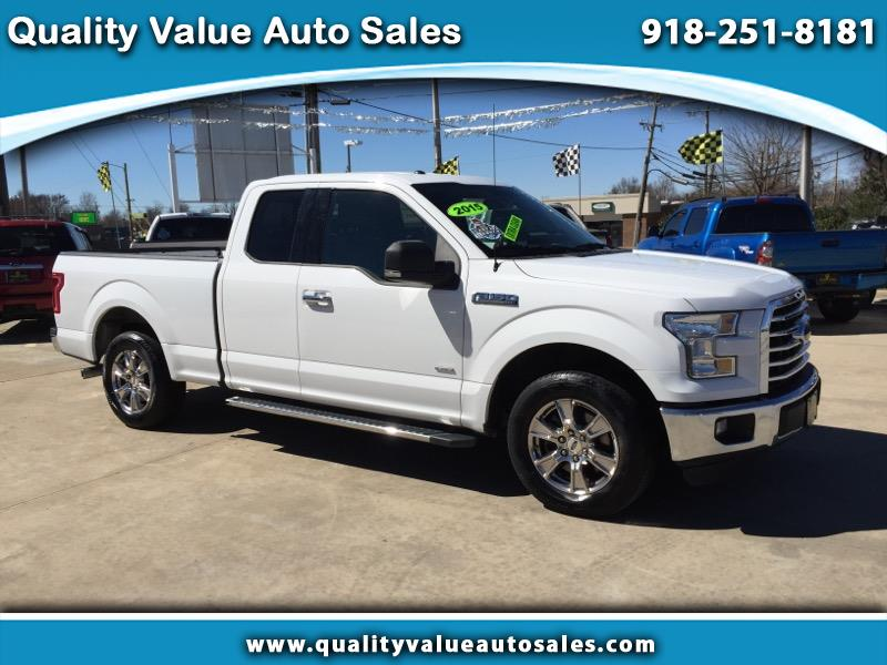 2015 Ford F-150 XLT 2WD SuperCab