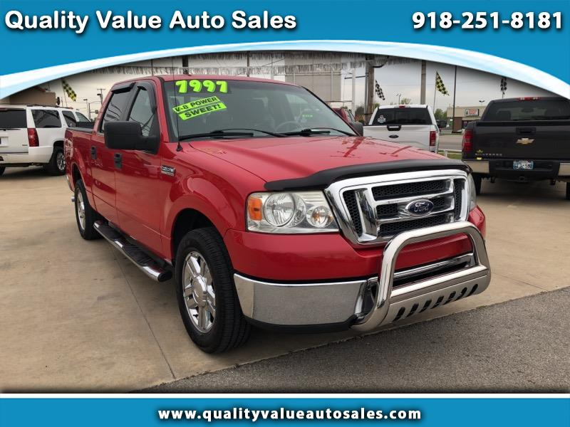 2008 Ford F-150 XLT 2WD SuperCrew 5.5' Box