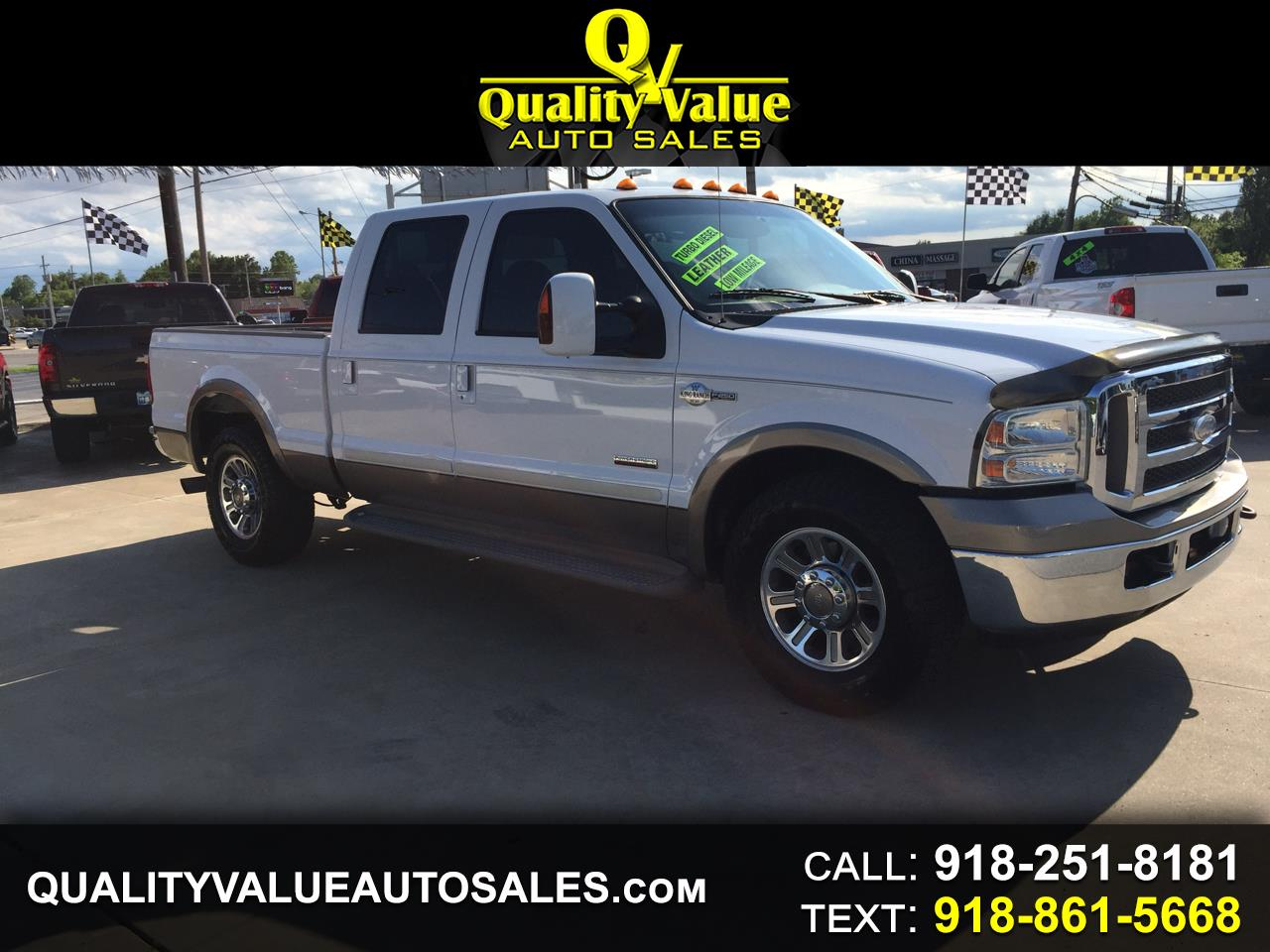 2005 Ford F-250 SD King Ranch Crew Cab 2WD