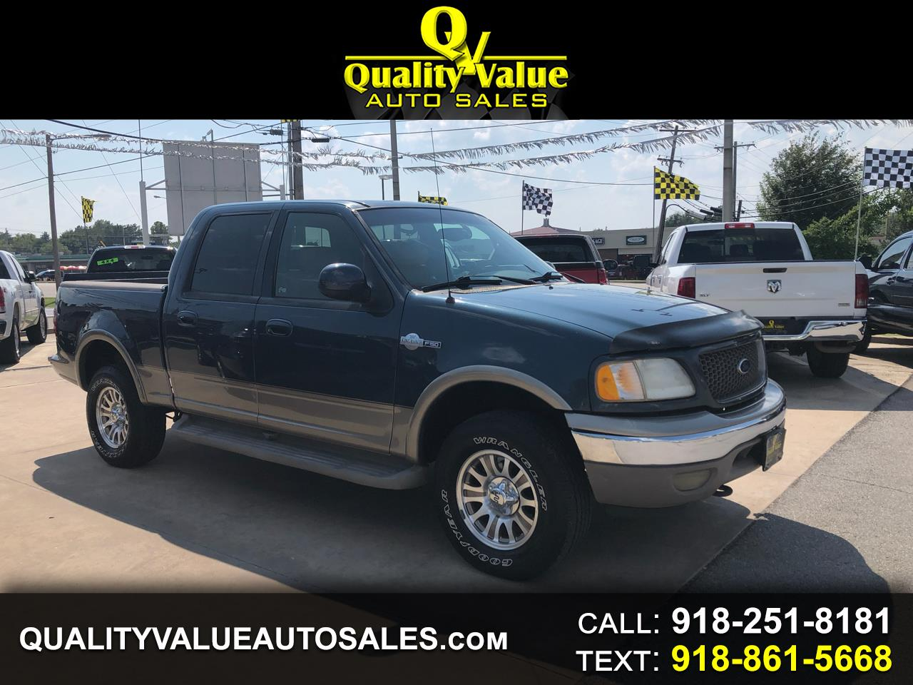 2001 Ford F-150 King Ranch 4x4 SuperCrew