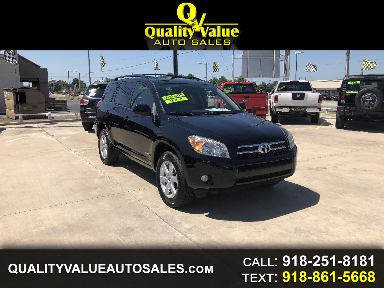 2007 Toyota RAV4 Limited I4 4WD with 3rd Row