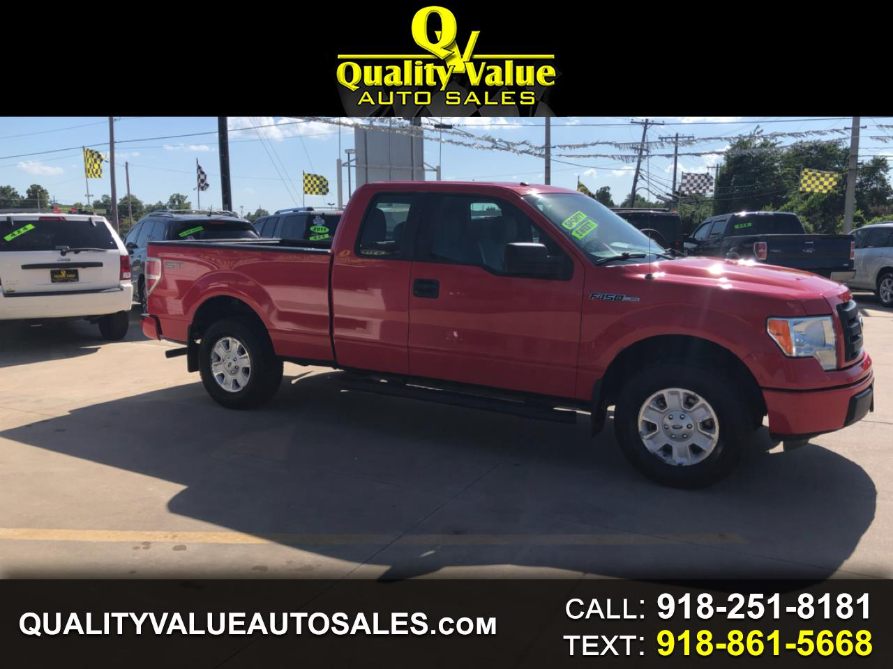 2012 Ford F-150 STX SuperCab 6.5-ft. Bed 2WD