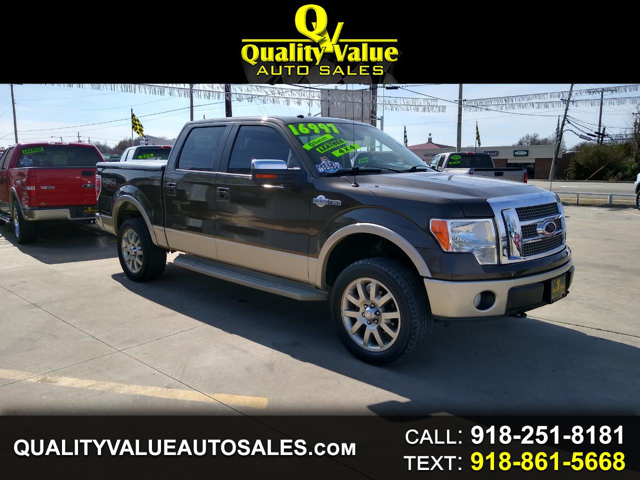 Ford F-150 King Ranch 4WD SuperCrew 5.5' Box 2009