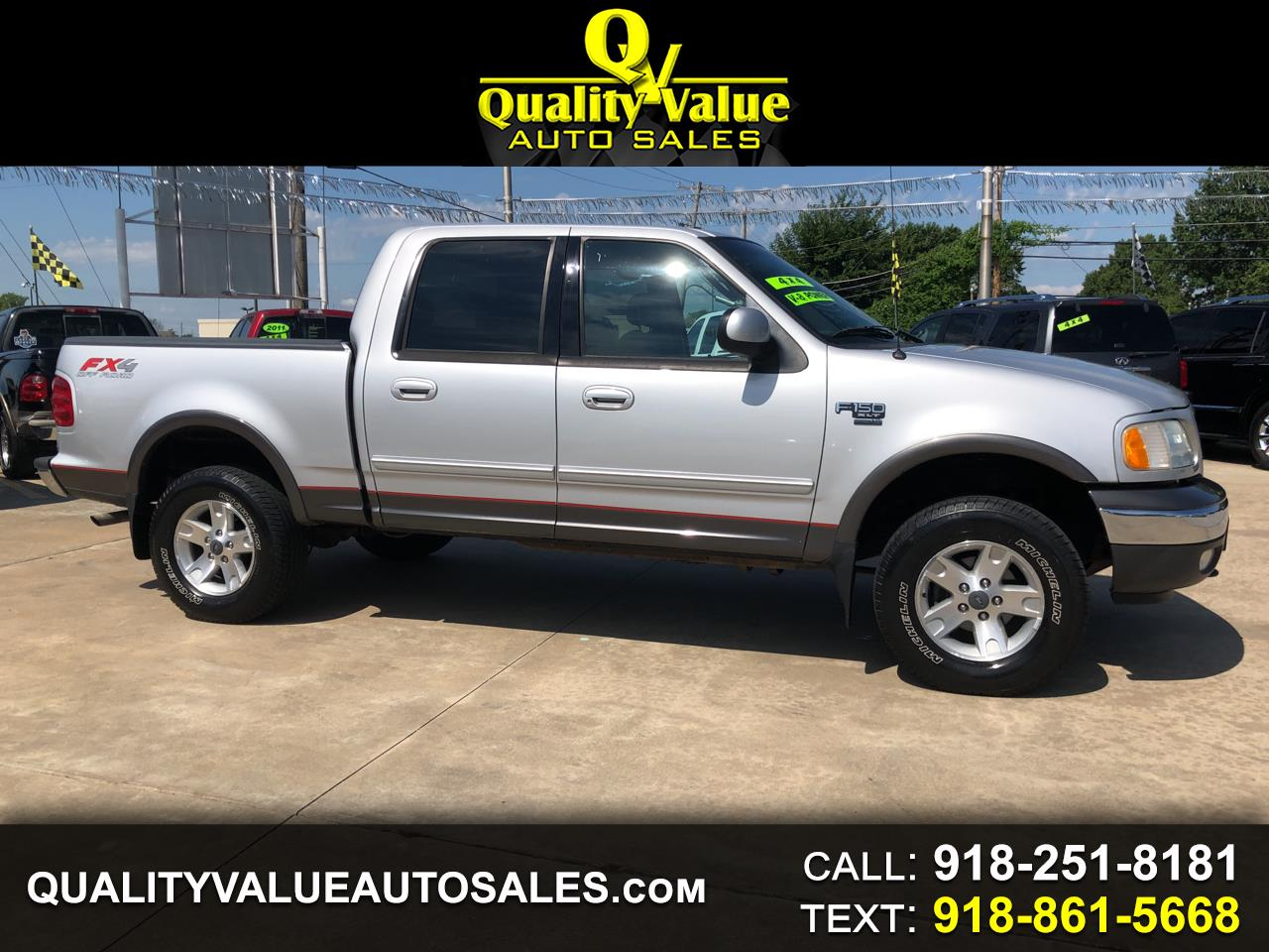 Ford F-150 XLT SuperCrew 4WD 2003
