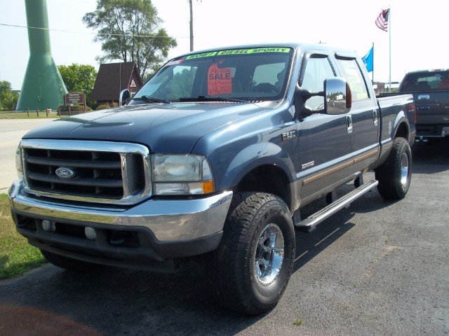 2004 Ford F-250 HD Crew Cab 4dr 152.2