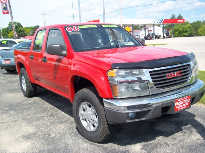 2006 GMC Canyon 4WD Crew Cab 128.3