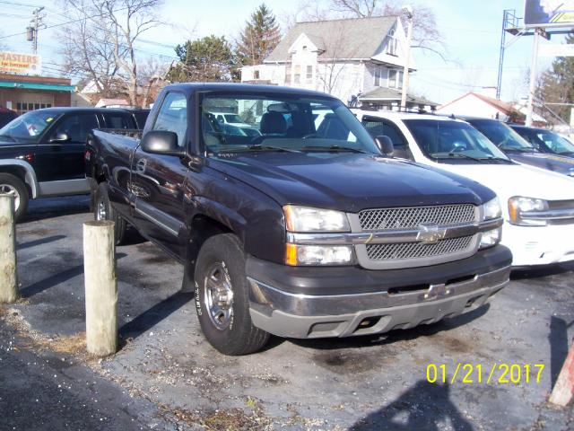2004 Chevrolet Silverado 1500 Z71 Long Bed 4WD