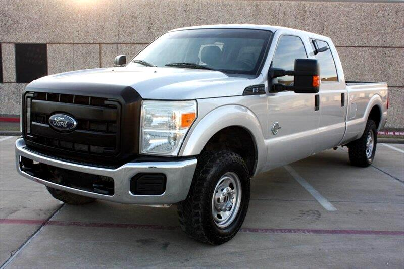 Ford F-250 SD XL Crew Cab 4WD 2011