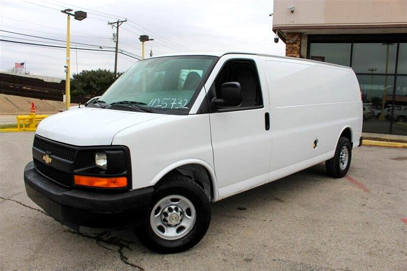 Chevrolet Express 3500 Cargo Extended 2013