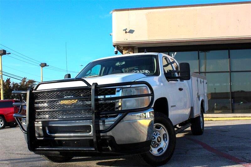 Chevrolet Silverado 2500HD Work Truck Ext. Cab 4WD 2013