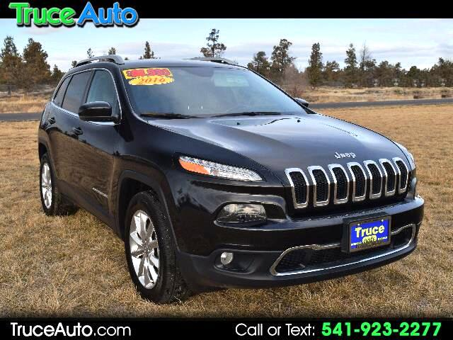 2016 Jeep Cherokee Limited 4WD LOADED LOW MILES